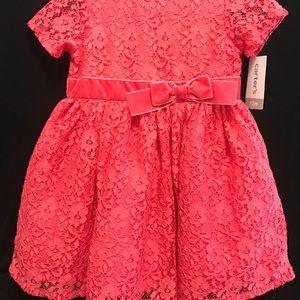 Carter's pink party dress